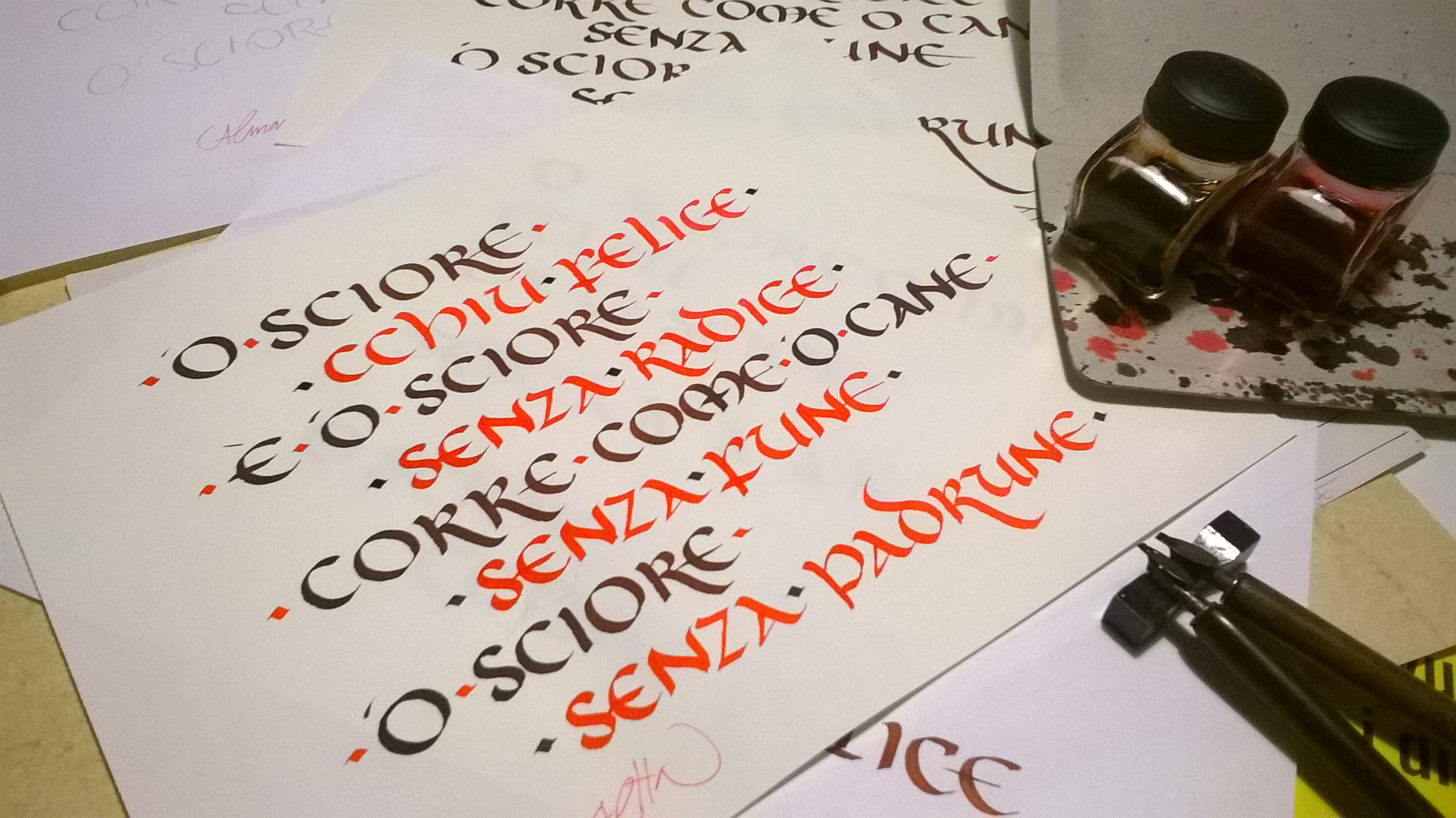 Bella calligrafia onciale