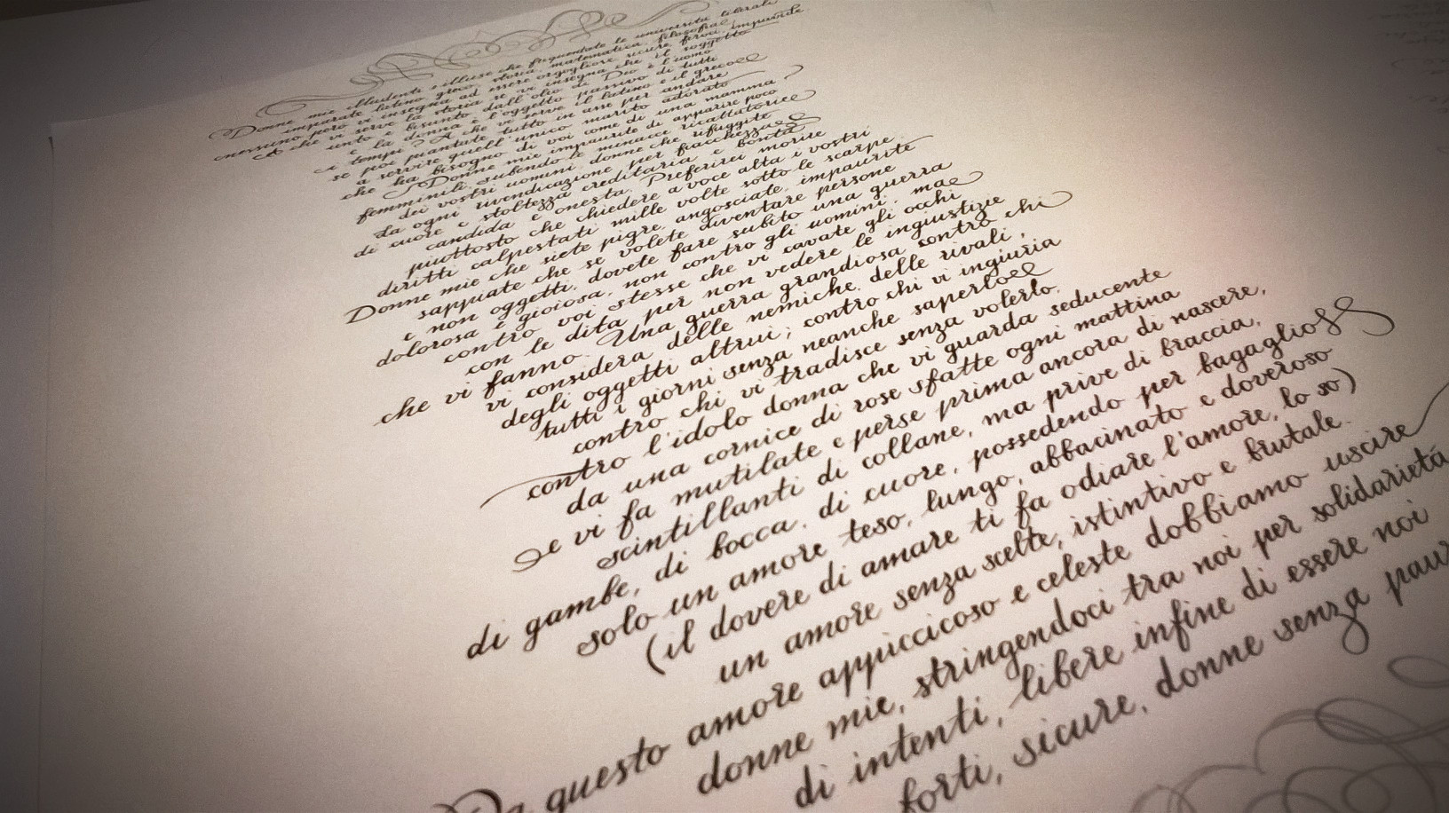 corsivo inglese - prodotti di calligrafia