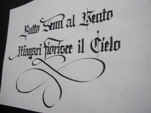 Carattere Gotico Texture