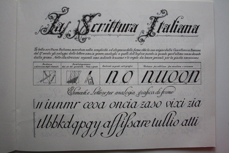 vocabolario calligrafia