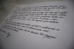 poesia corsivo inglese